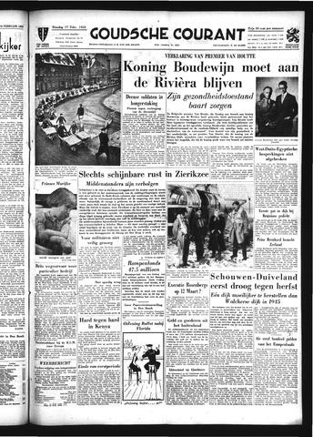 Goudsche Courant 1953-02-17