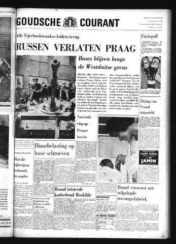 Goudsche Courant 1968-08-27