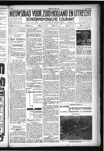 Schoonhovensche Courant 1932-04-22