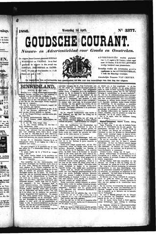 Goudsche Courant 1886-04-14
