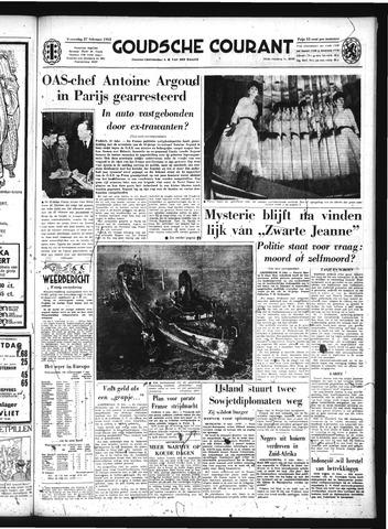 Goudsche Courant 1963-02-27