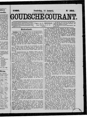 Goudsche Courant 1866-01-11