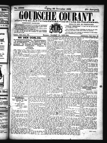 Goudsche Courant 1918-11-29