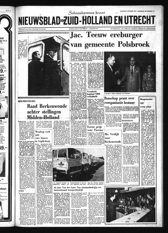 Schoonhovensche Courant 1975-10-06