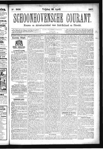 Schoonhovensche Courant 1917-04-20