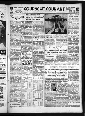 Goudsche Courant 1951-10-01