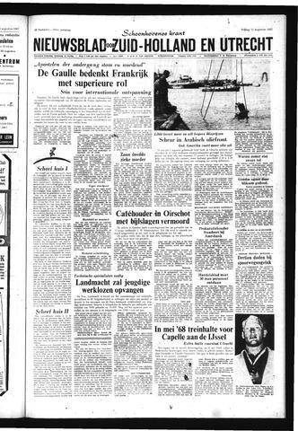 Schoonhovensche Courant 1967-08-11