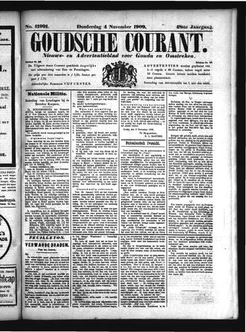 Goudsche Courant 1909-11-04