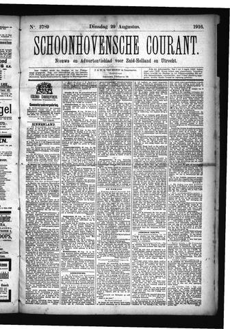 Schoonhovensche Courant 1916-08-29
