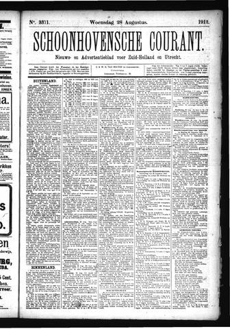 Schoonhovensche Courant 1912-08-28