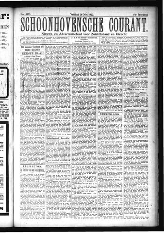 Schoonhovensche Courant 1922-05-26