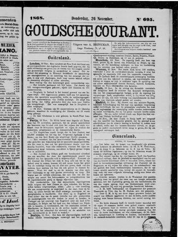 Goudsche Courant 1868-11-26