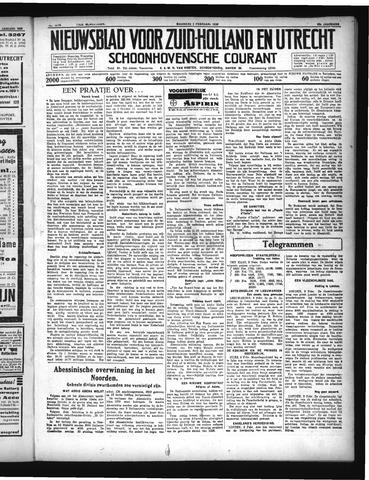 Schoonhovensche Courant 1936-02-03