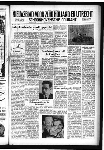Schoonhovensche Courant 1952-11-28