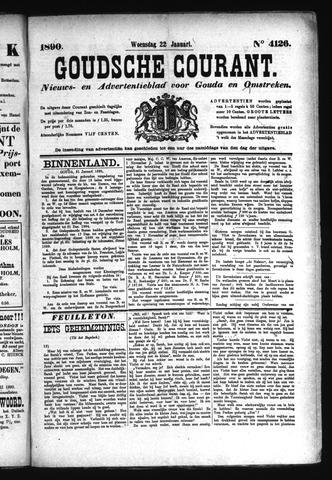 Goudsche Courant 1890-01-22