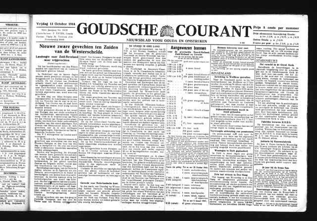 Goudsche Courant 1944-10-13