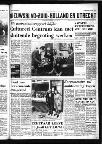 Schoonhovensche Courant 1975-05-07