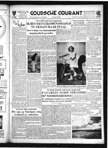 Goudsche Courant 1952-01-18