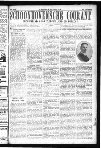 Schoonhovensche Courant 1924-11-19