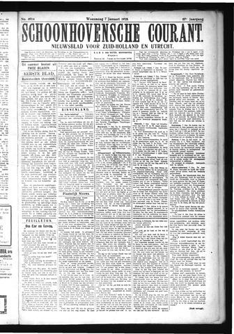 Schoonhovensche Courant 1925-01-07