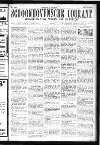 Schoonhovensche Courant 1924-07-28