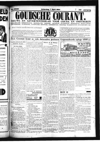 Goudsche Courant 1934-04-07