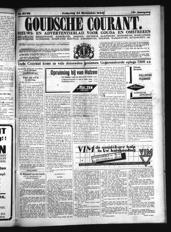 Goudsche Courant 1934-11-24