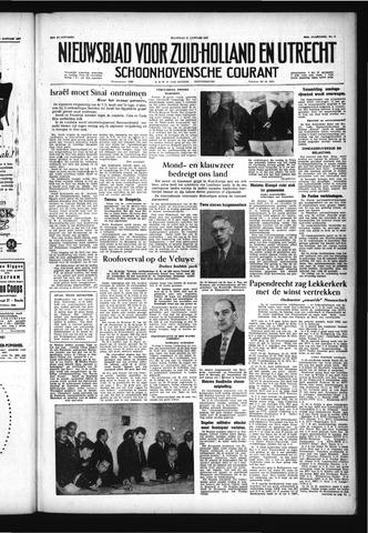 Schoonhovensche Courant 1957-01-21