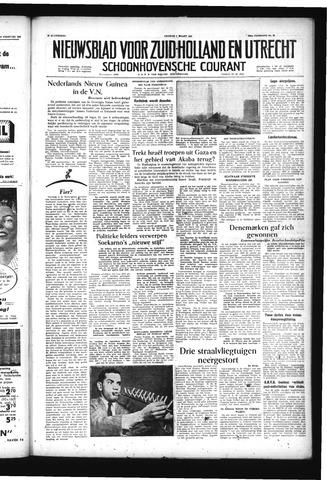 Schoonhovensche Courant 1957-03-01