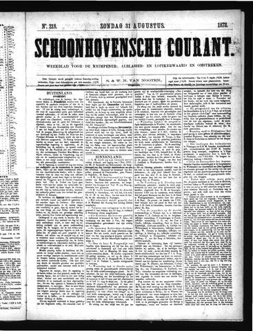 Schoonhovensche Courant 1873-08-31