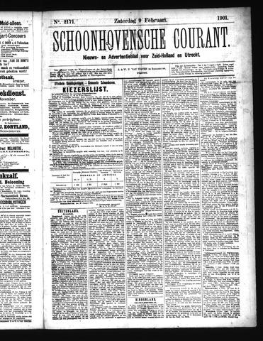 Schoonhovensche Courant 1901-02-09