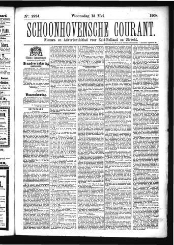 Schoonhovensche Courant 1908-05-13