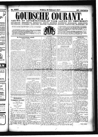 Goudsche Courant 1927-02-18