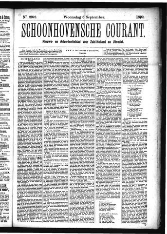 Schoonhovensche Courant 1899-09-06