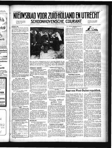Schoonhovensche Courant 1949-04-11