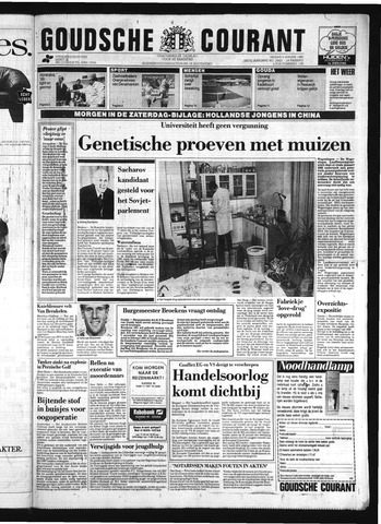 Goudsche Courant 1989-01-06