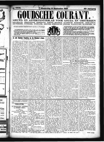 Goudsche Courant 1925-09-10