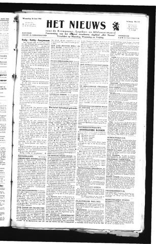 Schoonhovensche Courant 1945-06-20