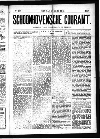 Schoonhovensche Courant 1877-10-21