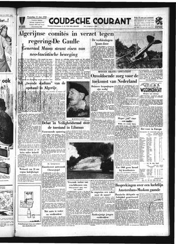 Goudsche Courant 1958-06-11