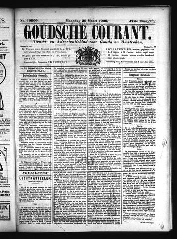 Goudsche Courant 1909-03-29