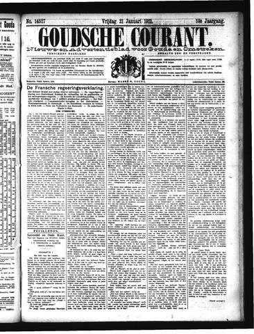 Goudsche Courant 1921-01-21