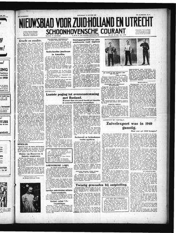 Schoonhovensche Courant 1950-01-18