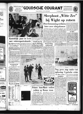 Goudsche Courant 1964-02-24
