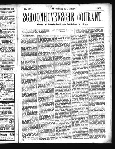 Schoonhovensche Courant 1900-01-17