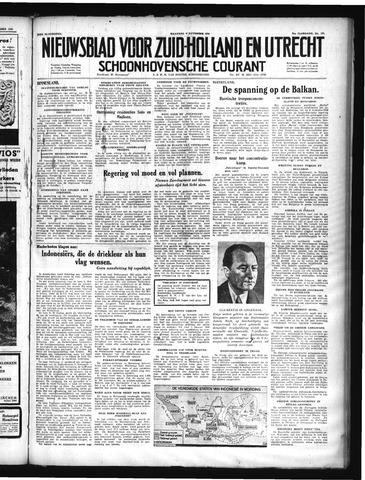 Schoonhovensche Courant 1949-11-07