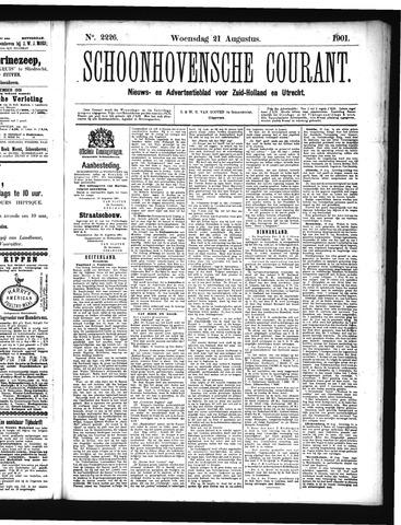 Schoonhovensche Courant 1901-08-21