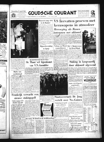 Goudsche Courant 1962-04-25