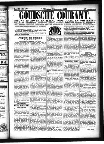 Goudsche Courant 1928-08-14