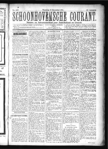 Schoonhovensche Courant 1921-12-19